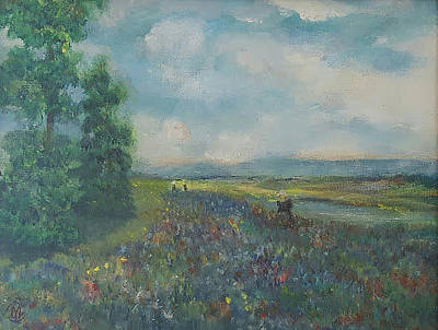 Painting - Wedding Landscape by Joe Leahy