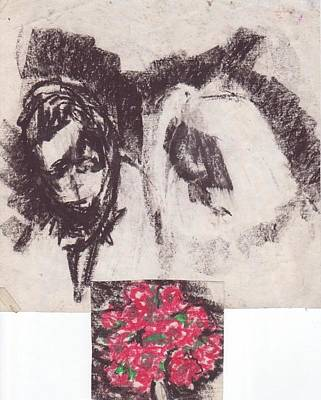 Religious Text Drawing - Wedding by William Douglas