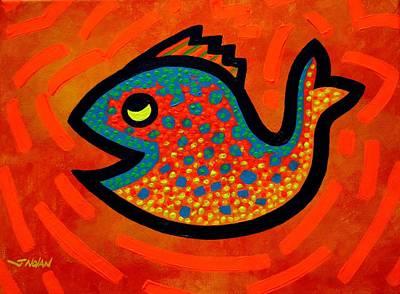 Weekend Fish Art Print