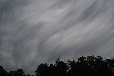 Photograph - Weird Clouds by Kathryn Meyer