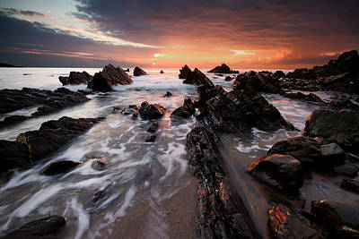 Photograph - Welcombe Mouth by Mark Leader