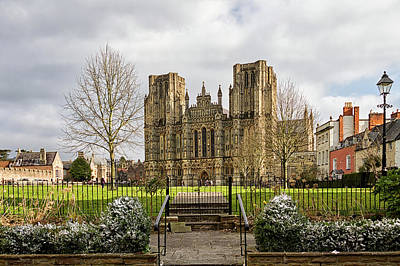 Photograph - Wells Cathedral by Shirley Mitchell