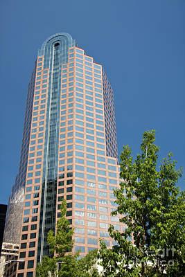 Photograph - Wells Fargo Tower by Jill Lang