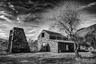 Photograph - Welsh Quarry Buildings by Adrian Evans