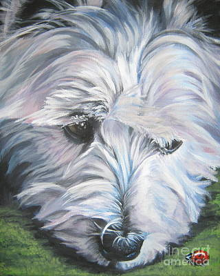 Painting - West Highland Terrier by Lee Ann Shepard