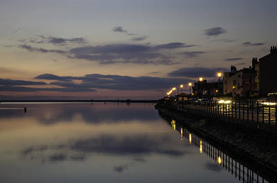 Photograph - West Kirby Promenade Sunset by Spikey Mouse Photography