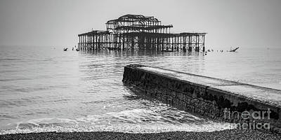 Photograph - West Pier At Brighton by Colin and Linda McKie