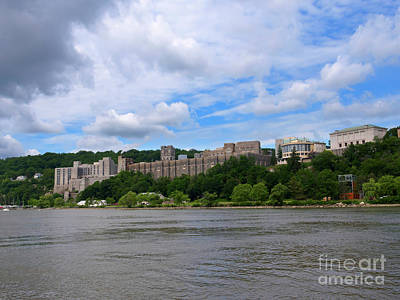 Photograph - West Point From The Hudson River, New York by Louise Heusinkveld