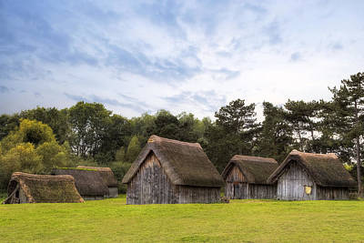 Anglo Photograph - West Stow Anglo-saxon Village - England by Joana Kruse