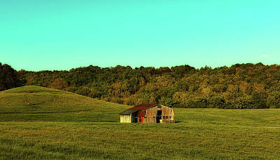 Photograph - West Virginia Autumn Meadow by L O C