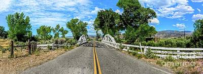 Photograph - West Walker River Bridge Panorama by Joe Lach