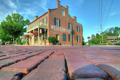 Photograph - Western House by Steve Stuller