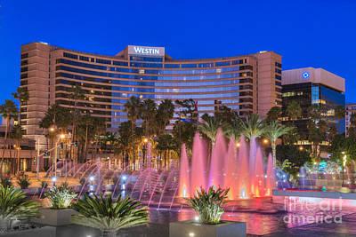 Photograph - Westin Hotel Long Beach by David Zanzinger