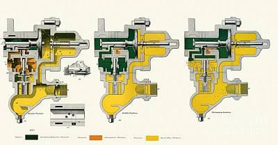Westinghouse Quick-action Triple Valve Art Print