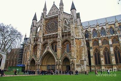 Photograph - Westminster Abbey In London by David Fowler