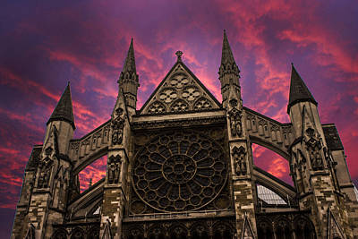 Westminster Abbey Photograph - Westminster Abbey by Martin Newman