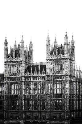 Westminster Palace Photograph - Westminster - London by Joana Kruse