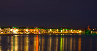 Photograph - Weymouth Laser Nights by David French