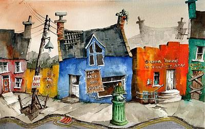 Painting - What Are We Coming To? by Val Byrne
