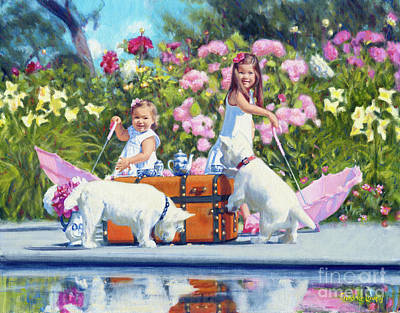Painting - What's Your Cup Of Tea? by Candace Lovely
