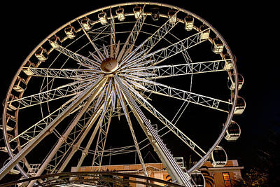 Photograph - Wheel Of Excellence Ferriswheel In Cape Town by Marek Poplawski