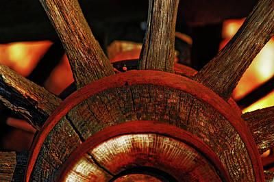 Photograph - Wheels Of Time by Rowana Ray