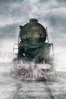 Photograph - When The Winter Comes by Jaroslaw Blaminsky