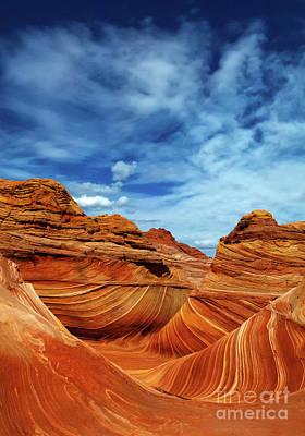 Photograph - Where Heaven Meets Earth by Bob Christopher