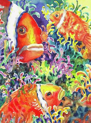 Painting - Where's Nemo I by Ann Nicholson