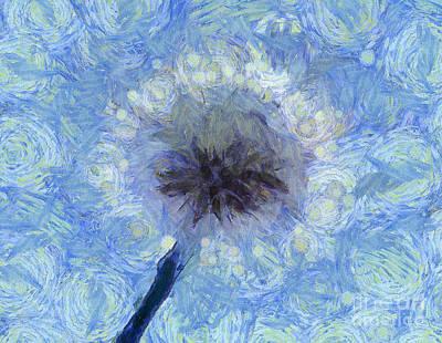 Floral Digital Art Digital Art - Whimsical Dreams by Krissy Katsimbras