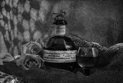 Digital Art - Whisky And Roses  by Sandra Selle Rodriguez