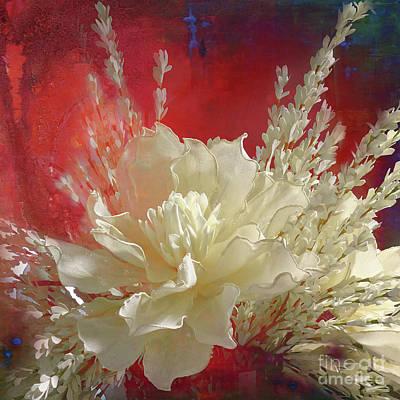 Photograph - White Beauty by Barbara Dudzinska
