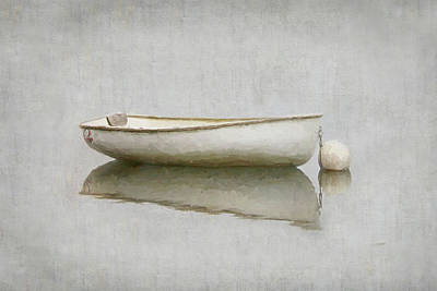 Photograph - White Boat by Karen Lynch