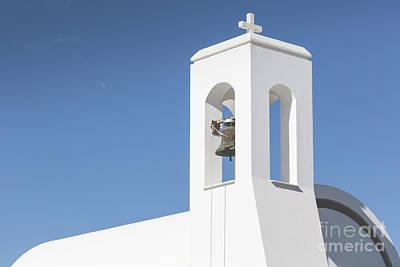 White Church And Palms, Agia Napa, Cyprus Art Print by Mariusz Prusaczyk