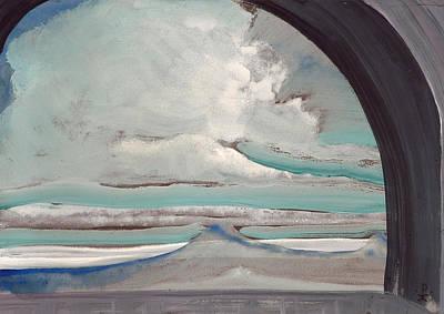 Cloud Painting - White Cloud by Nicholas Roerich