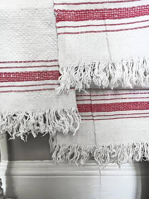 White Towels Art Print