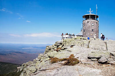 Whiteface Mtn. Tower Lookout Art Print