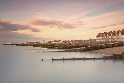 Whitstable Bay Art Print by Ian Hufton