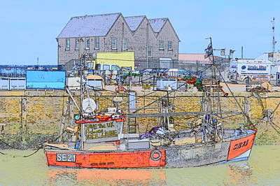 Photograph - Whitstable Harbour by Wendy Le Ber
