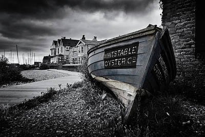 Oyster Photograph - Whitstable Oysters by Ian Hufton