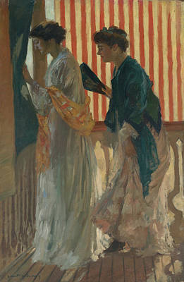 Painting - Who Comes? by Rupert Bunny