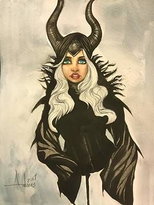 Painting - Wicked Queen by Jimmy Adams