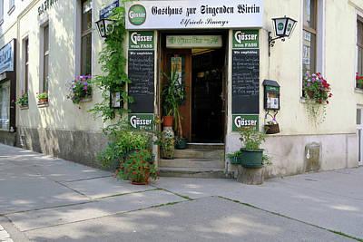 Cslanec Photograph - Wiener Wirtshaus by Christian Slanec