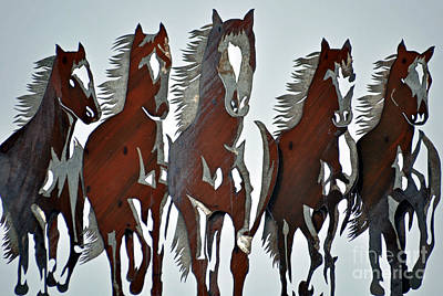 Art Print featuring the photograph Wild And Free by Juls Adams