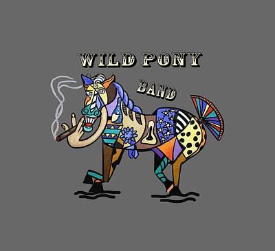 Wild Pony Art Print