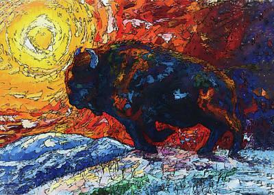 Wild The Storm Art Print by Art OLena