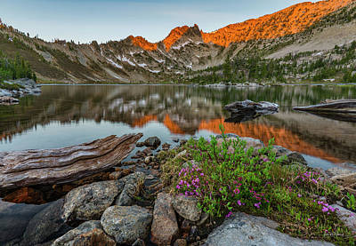Photograph - Wilderness Sunrise by Leland D Howard