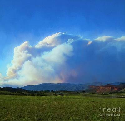 Photograph - Wildfire by Jon Burch Photography