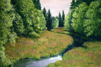Painting - Willamette Valley Summer by Carl Capps