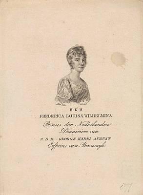 Louisa Painting - Willem Van Senus by MotionAge Designs